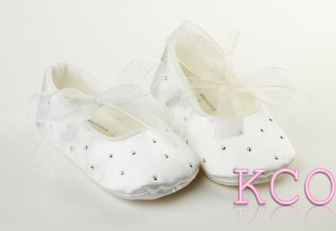 Style FJS017 White~Girls Shoes